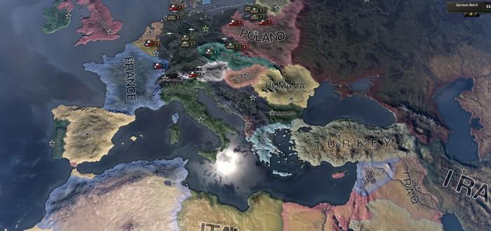 Paradox анонсировала центральноевропейское дополнение для Hearts of Iron IV
