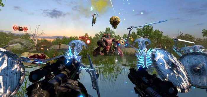 Обновление Valtos добавило новые карты и врагов в Serious Sam VR: The Last Hope