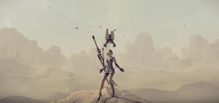 Президент Square Enix избивает 2B из NieR в релизном трейлере дополнения