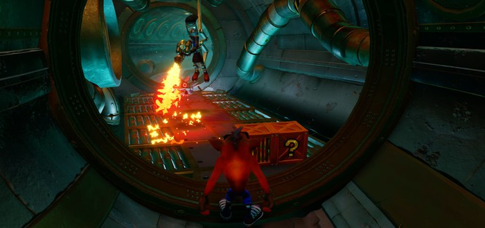 Пять минут канализационного геймплея Crash Bandicoot N. Sane Trilogy