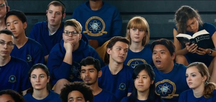 Фотографии школьной жизни Питера Паркера в Spider-Man: Homecoming