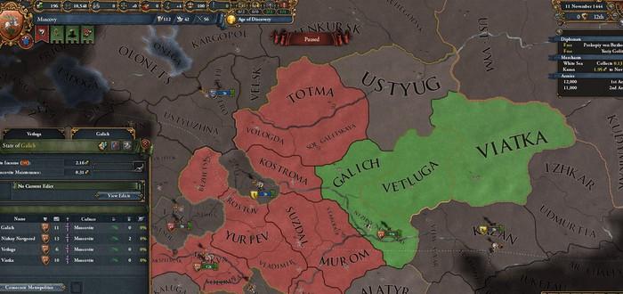 Третий Рим — новое дополнение Europa Universalis IV: добро пожаловать в Российскую империю