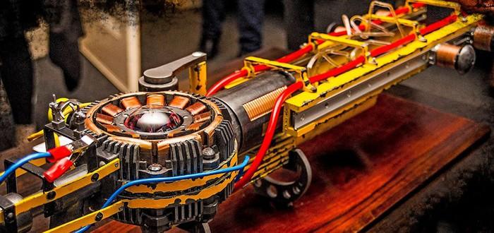 Реальная винтовка Тесла из Fallout 4 просто волшебна