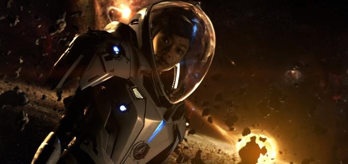 Опубликован первый трейлер сериала Star Trek: Discovery