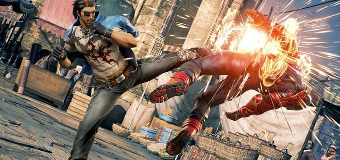 Герои Tekken 7 в геймплейном трейлере