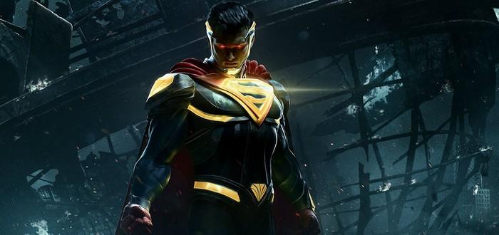 Гайд Injustice 2 по Супермену — все приемы и комбо
