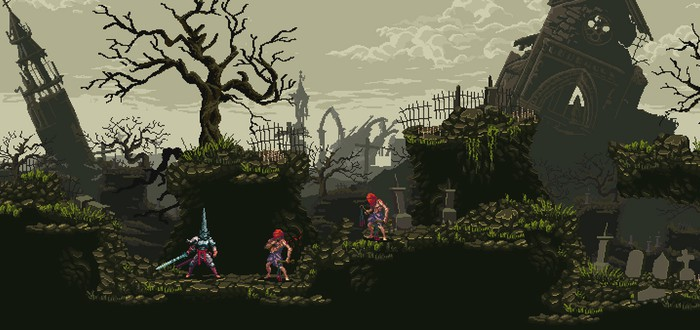 Blasphemous — 2D фэнтези-платформер для поклонников Dark Souls
