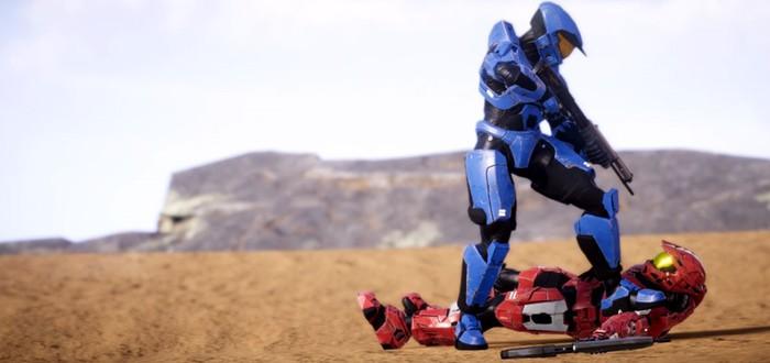 Красивый кинематографический трейлер к фанатской игре Halo