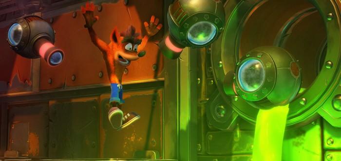 Naughty Dog восхищены ремастером Crash Bandicoot N. Sane Trilogy