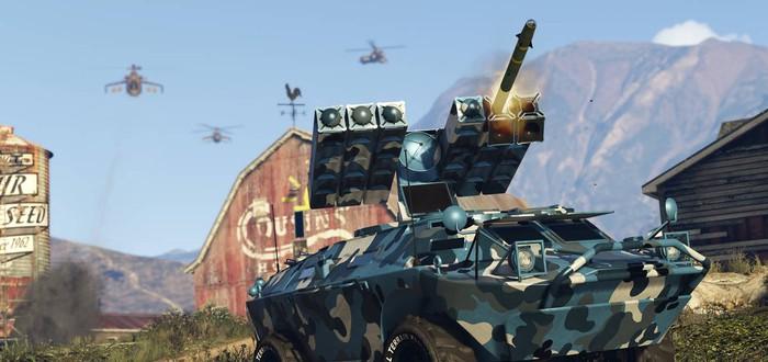Новые скриншоты дополнения Gunrunning для GTA Online