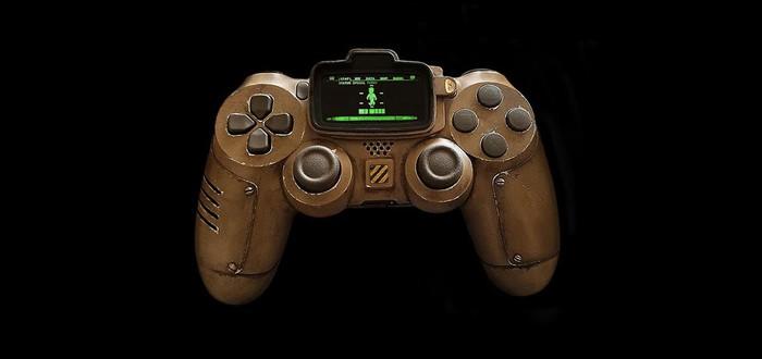 Контроллер PS4 в стиле Fallout — мечта фаната