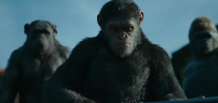 """Новый трейлер и постер фильма """"Планета обезьян: война"""""""