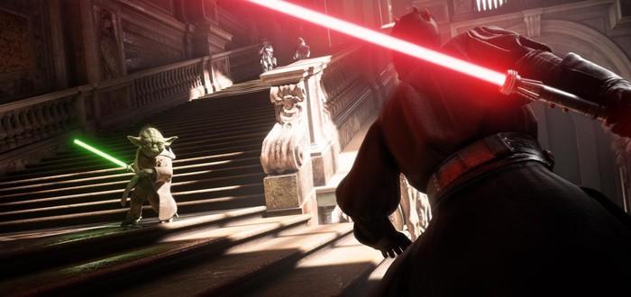 E3 2017: Геймплей Star Wars Battlefront II с планеты Набу