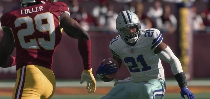 Вот как выглядит Madden NFL 18 на Xbox Scorpio