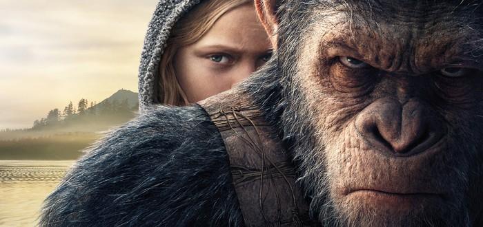 """Видео о съемках блокбастера """"Планета обезьян: война"""""""