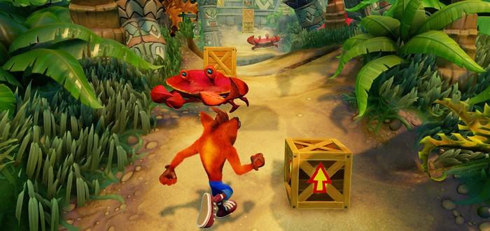 Ремастер Crash Bandicoot N.Sane Trilogy делали без доступа к исходному коду игры