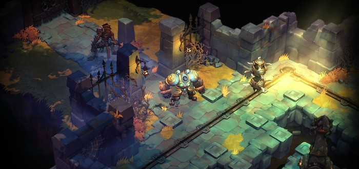 9 минут геймплея Battle Chasers: Nightwar