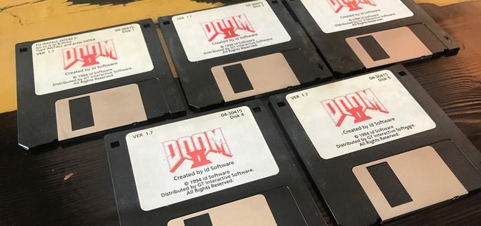 Ромеро продает оригинальные дискеты Doom 2