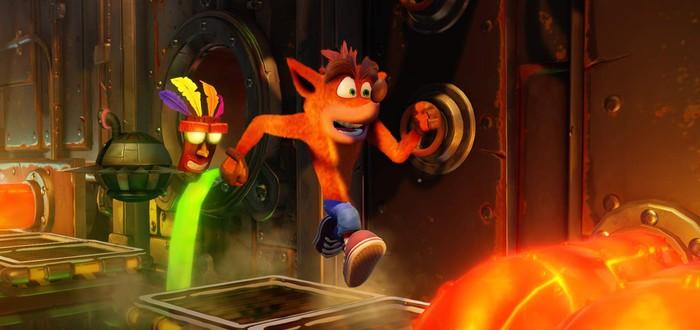 Сравнение оригинальной игры с ремастером в коротком видео Crash Bandicoot N. Sane Trilogy