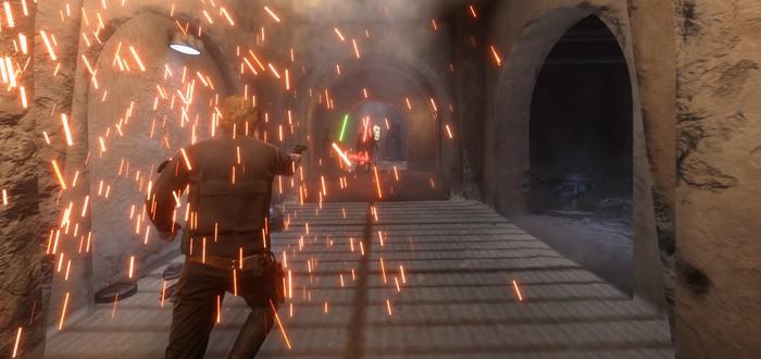 Мод на битву героев доступен для Star Wars Battlefront (DICE)