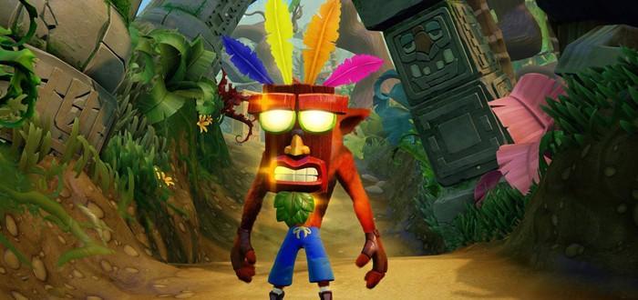 Игроки считают Crash Bandicoot N. Sane Trilogy сложнее оригинала