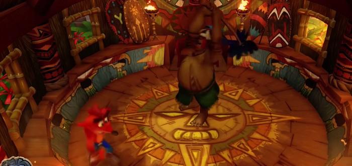 Гайд по Crash Bandicoot N. Sane Trilogy: как победить босса Папу Папу