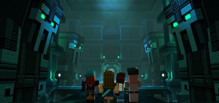 Новый сюжетный трейлер второго сезона Minecraft: Story Mode