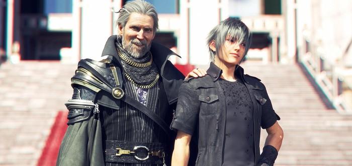 Изображения Ноктиса и Региса на годовщину Kingsglaive: Final Fantasy XV