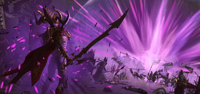 Трейлер Темных Эльфов Total War: Warhammer 2 на движке