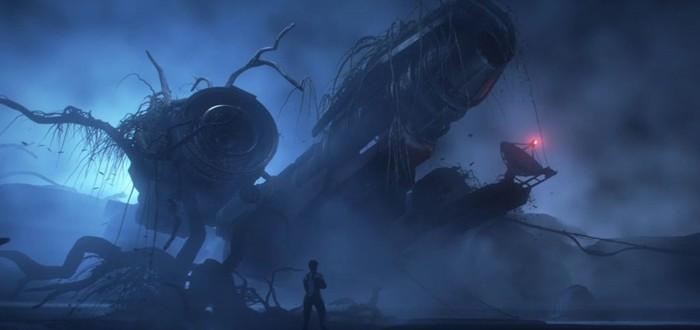 Гигантские корабли в космосе и на поверхности планет в трейлере Star Citizen