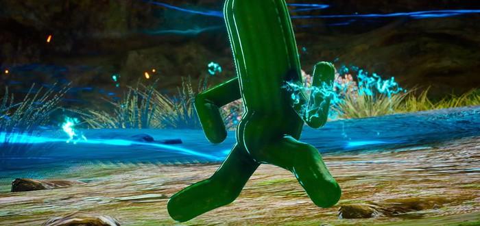 Подробный взгляд на попку кактуса из FF