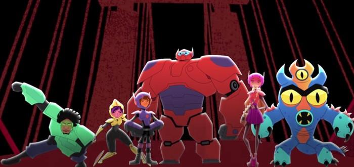 Первое видео анимационного сериала Big Hero 6