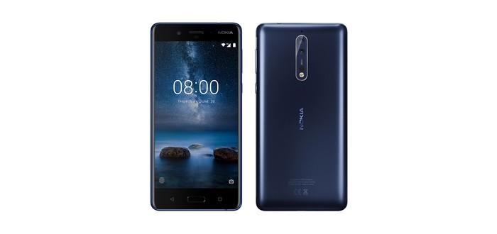 Утечка Nokia 8 — широкий дисплей и двойная камера с оптикой Zeiss