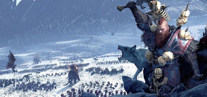 Вторжение племен Норска в Total War: Warhammer начнется в начале августа
