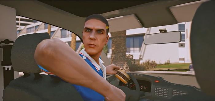 """Такси"" воссоздали в GTA 5"