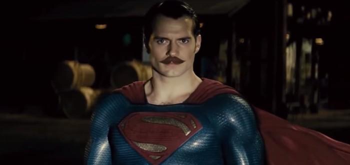 Усатый Супермен и Чудо-Женщина в фанатском ролике Batman vs Superman