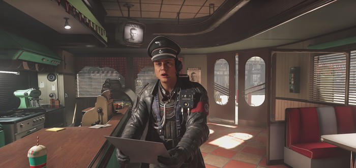 4 минуты геймплея Wolfenstein II: The New Colossus