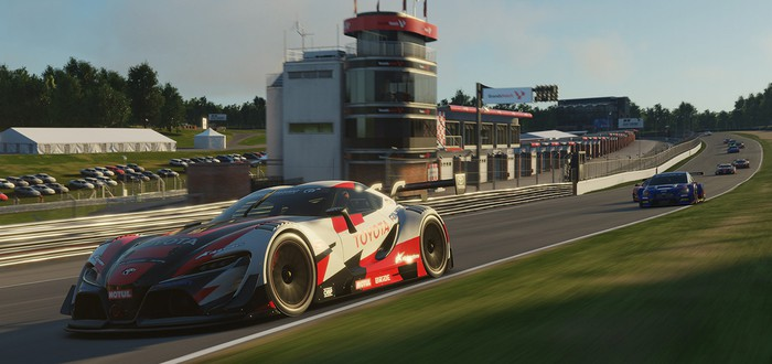 8 минут геймплея из кампании Gran Turismo Sport