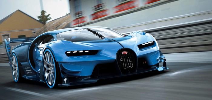 Геймплей Gran Turismo Sport: интернет-селебрити водит Bugatti — кошмар