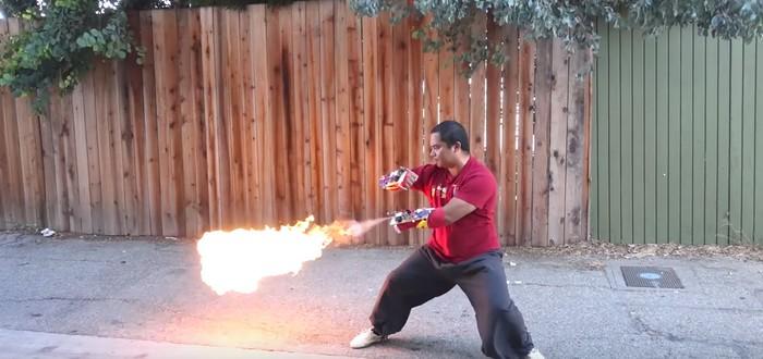 Да здравствует Империя Огня — живая демонстрация способностей техно-мага