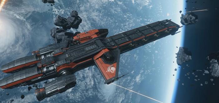 Визуальные эффекты в Star Citizen — повреждения корабля и ускорители