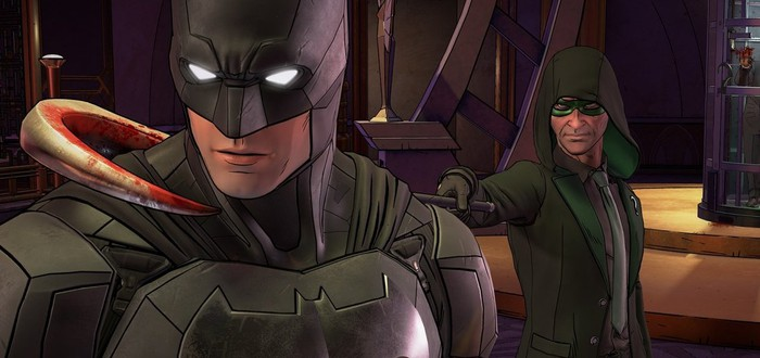 Первые 20 минут Batman: The Enemy Within