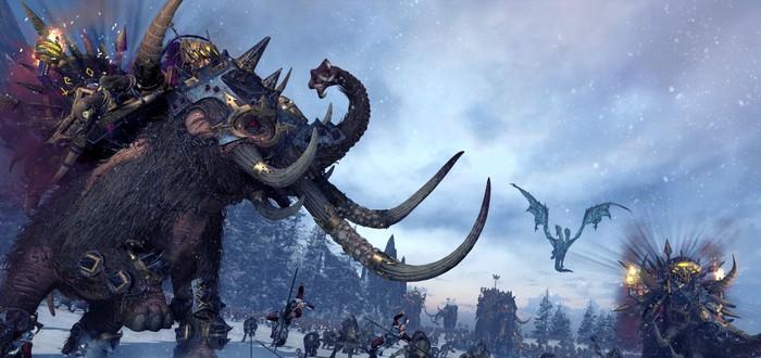 Геймплей дополнения Norsca для Total War: Warhammer