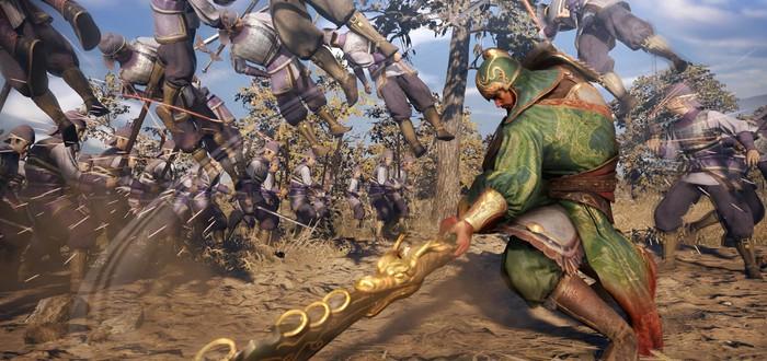8 минут геймплея японской версии Dynasty Warriors 9