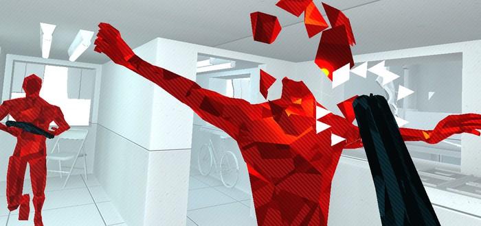"""Спидран Superhot VR выглядит как красно-белая """"Матрица"""""""
