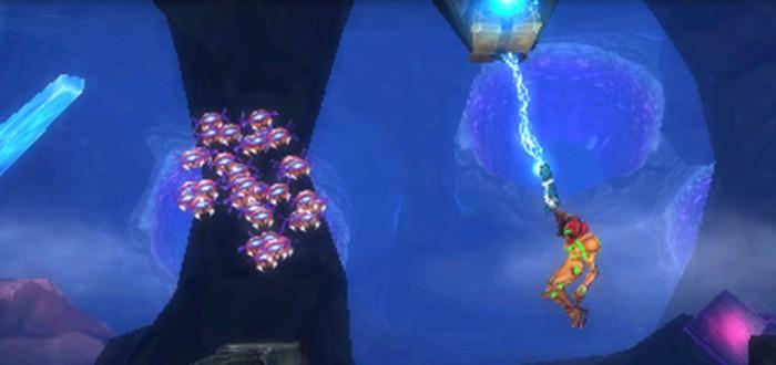 Новый геймплей перезапуска Metroid: Samus Returns