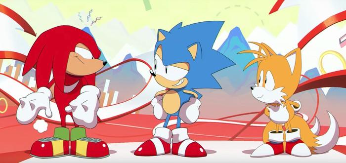 Интро-видео Sonic Mania в виде классической 2D-анимации