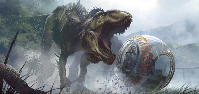 Дебютный трейлер Jurassic World Evolution