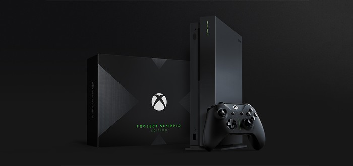 Распаковка Xbox One X Project Scorpio