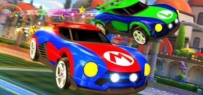 Rocket League для Nintendo Switch получит боевые автомобили